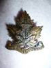 "48th Bn (Victoria, B.C.) ""Pro Imperio"" Collar Badge"
