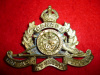 12-67, 67th (University of Toronto) Overseas Field Battery Cap Badge
