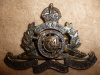 12-74, 74th (Kingston) Overseas Field Battery Cap Badge
