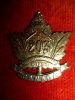203rd Battalion (Winnipeg Rifles) Collar Badge