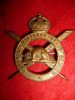 39-3, Corps of Military Staff Clerks Cap Badge