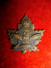 38-3C, 2nd Quebec Depot Battalion, 2nd Regiment Collar Badge (French Legend)