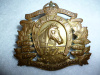 C28 - 16th/22nd Saskatchewan Horse Cap Badge