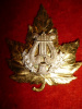 Canadian Band Silver & Gilt Officer's Badge