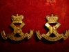 M77a - The Canadian Scottish Collar Badge Pair, Birks