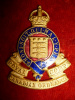 S14 - Royal Canadian Ordnance Corps Officer's Enamelled Cap Badge