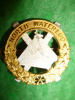 M161 - North Waterloo Regiment Officer's Collar Badge, Gaunt