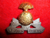 M96 - The St. John Fusiliers, Officer's King's Crown Cap Badge