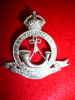 Moulmein Volunteer Rifles KC Cap Badge