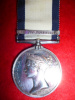 Naval General Service Medal 1793-1840, (1) clasp, Basque Roads 1809