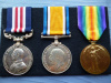 WW1 Military Medal Group of (3) to 46th Bn. Canadian Infantry, KIA 1918