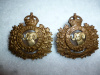 MM269a - 102nd The Rocky Mountain Rangers Collar Badge Pair