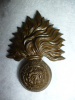 The Royal Fusiliers Victorian QVC Cap Badge, Pre 1881 Issue, KK 429