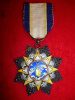 China, Republic, Order of Clouds and Banner, Ninth Class breast Badge