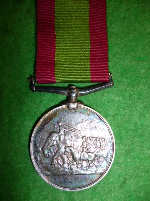 Afghanistan Medal 1878-1880, no clasp, to 14th Regiment (West Yorkshire) - Kennedy