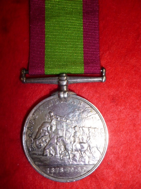 Afghanistan Medal 1878-1880, no clasp, to 14th Regiment (West Yorkshire) - G. Sargent