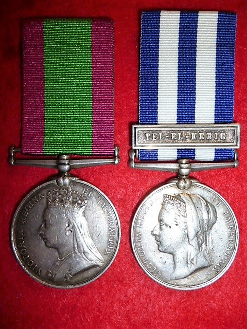 Afghanistan & Egypt Medal Pair to The Seaforth Highlanders