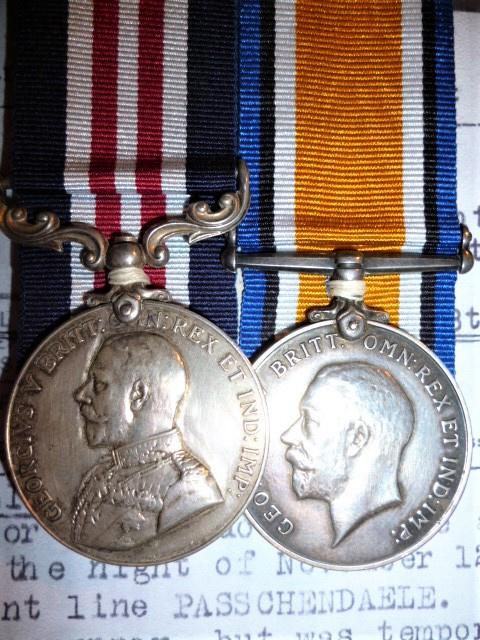 The Great War M.M. pair awarded to Private E. C. Brown, 102nd Battalion (2nd Central Ontario) Canadi