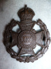 The 19th London Regiment (St. Pancras) Bronze Officer's Cap Badge