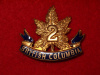 30th Battalion (2nd British Columbia) Sweetheart Pin