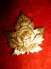 93rd Battalion (Peterborough, Ontario) Officer's Gilt Collar Badge