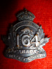 164th Bn (Halton County, Ontario) Officer's Collar Badge