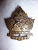 96th Battalion (Canadian Highlanders) CEF Right Collar Badge