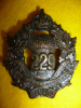 229th Battalion, (Moose Jaw, SK.) Cap Badge