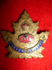 8-8, 8th Reserve Regiment Officer's Enamelled Cap Badge