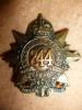 "244th Battalion (Kitchener's Own, Montreal) no ""K.O."" Cap Badge"