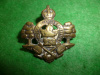 238th Battalion (Valcartier, Quebec) Forestry Collar Badge