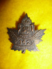 142nd Battalion (London's Own) Collar Badge