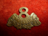 8-8, 8th Central Ontario Reserve Regiment Collar Badge