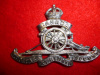 "12-1, Canadian Field Artillery (Style ""A"") Officer's / Bandsman's WM Cap Badge"