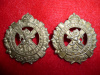 8-14, 14th Winnipeg Reserve Battalion Collar Badge Pair