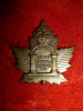 39-7, Canadian Army Dental Corps (D.S.) Collar Badge