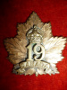 19B - 19th Battalion (Toronto) Cap Badge, Reiche Maker