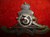 145-5-1-3, 3rd Training Battery Cap Badge