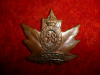 98th Battalion (Lincoln  & Welland) Collar Badge