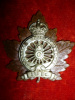 21-3, 3rd Canadian Railway Troops Officer's Cap Badge