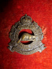 21-1, 1st Canadian Railway Troops Officer's Bronze Collar Badge