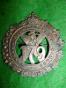 179th Battalion (Winnipeg Highlanders) Officer's Silver Plated Cap Badge