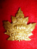 114th Battalion (Brock's Rangers) Officer's Cap Badge