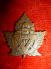 39-12a - Canadian Military YMCA - PX Design Collar Badge