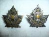 39-10, Canadian Chaplain Corps Officer's Collar Badge Pair