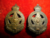 23-2 - No. 2 Section Skilled Railway Employees Collar Badge Pair