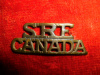 23-1- No. 1 Section Skilled Railway Employees Shoulder Title, Large