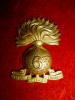 21-6, 6th Canadian Railway Troops Officer's Gilt Collar Badge, Gaunt Maker's Tablet