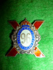 96th Battalion (Canadian Highlanders) Sterling Silver & Enamels Sweetheart Pin
