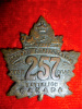 257th Battalion (Railway Construction) Cap Badge, Stanley & Aylward Maker